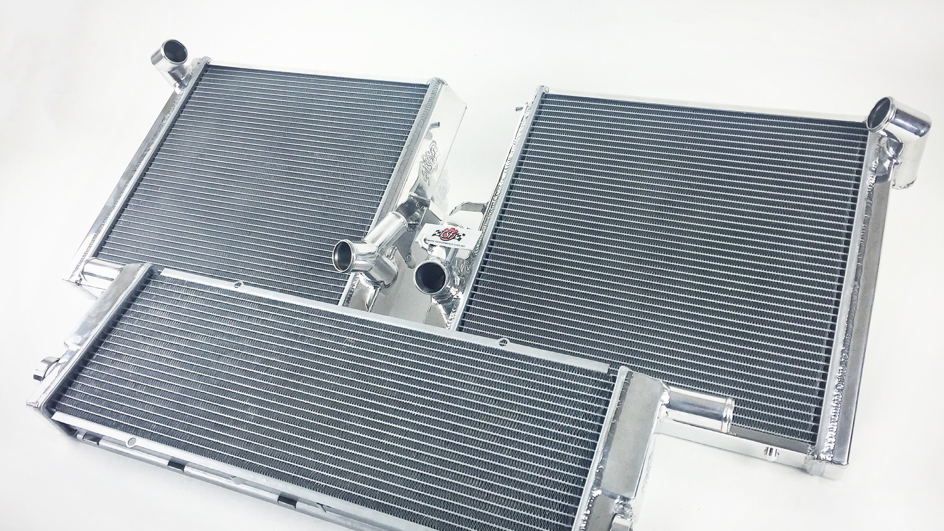 CSF #7069/#7070 Left/Right and #7068 Center Radiator for 991 Turbo/GT3
